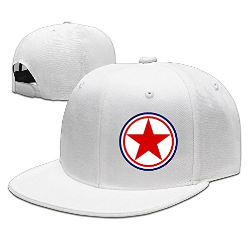 roundel-of-the-korean-peoples-army-air-force-adjustable-hat-flat-along-baseball-cap-trucker-cap