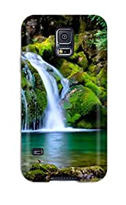 High Quality Purecase Excellent Nature 0 Skin Case Cover Specially Designed For Galaxy - S5