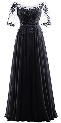 Rong store Rongstore Prom Dress With Beaded Lace