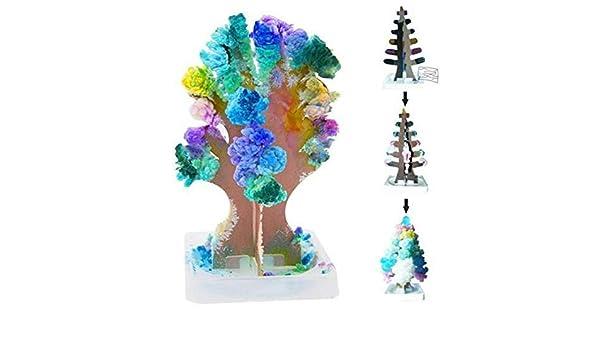 Crystal Gift Toy Stocking Filler Boys Girls x 1 Growing Christmas Tree