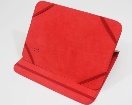 Polaroid 8 Inch Tablet & e-Reader Universal Protective Case -Red