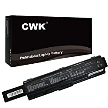 CWK® 7800mAh 9 Cell New High Capacity Battery for Toshiba Satellite A200 A205 A300 A350 A355 A500 PA3535U-1BRS A205-S5000 L305-S5875 A505-S6960 A505-S6034 A215-S7462 A300-00Q A300-034 A300-048 A505 A505D M200 M205 PA3727U-1BRS Toshiba Satellite L400 L450 L455D L455-S5975 L500 L500D A205-S5812 A505-S6005 A505-S6012 A505-S6016 Toshiba Satellite Pro A200 A350D A355D A500 L300D PA3534U-1BRS Toshiba Satellite L305D L505 L505D-S5983 L550 L555 PA3535U-1BRS