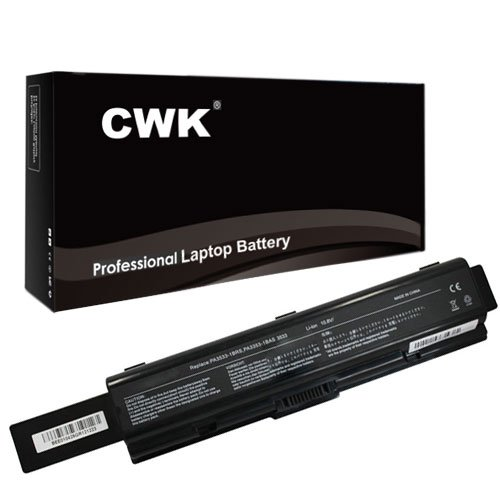 (CWK 7800mAh 9 Cell New High Capacity Battery for PA3533U-1BRS PA3535U-1BRS Toshiba Satellite A215-S4757 L305-S5933 PA3534U-1BRS Toshiba Satellite A505-S6025 A505-S6033 A505-S6040 A505 Toshiba A215-S4697 A215-S4717 A215-S4737 A215-S4737 A215-S5808 M200 Toshiba PA3533U-1BAS PA3534U-1BAS PA3535U-1BAS PABAS174 PA3727-1BAS PABAS099 PABAS098 Toshiba Satellite A305-S6916 A505-S6960 L455-S5975 A200 A205-S5812 A205-S5831 L305-S5894 L305D-S5974)
