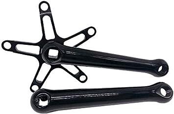Cuadrado Agujero Pedalier, Aleación de Aluminio 170mm Bicicleta ...