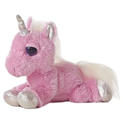 "Aurora World Dreamy Eyes Heavenly Pink Unicorn 10"" Plush: Toys & Games"