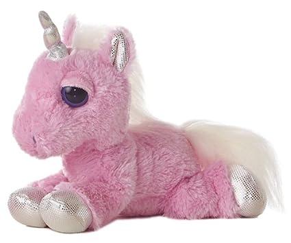 Amazon Com Aurora World Dreamy Eyes Heavenly Pink Unicorn 10 Plush