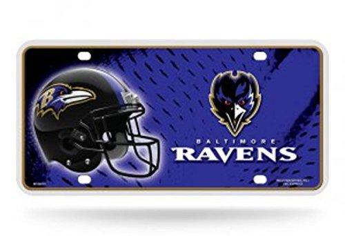 NFL Baltimore Ravens Metal License Plate Tag]()
