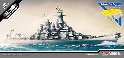 - Academy USS Missouri BB-63 Battleship Modeler's Edition Plastic Model Kits 1/700th Scale