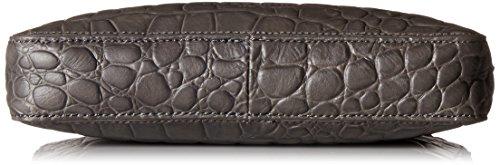 Women's Village Croco Embossed Liebeskind Grey Berlin Leather Rock Crossbody Rq5Bxpnx