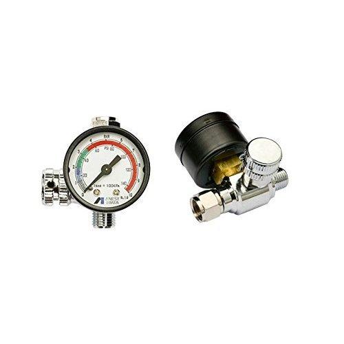 ANEST IWATA Impact Controller 2/ /MANOMETER Air Regulator for Paint Stolen