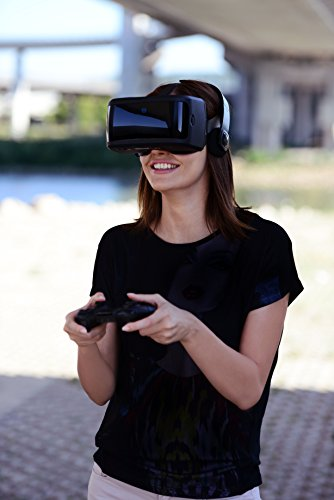 AuraVisor All-In-One Virtual Reality VR Goggles Headset
