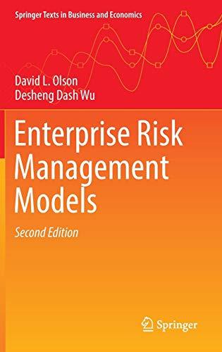 Enterprise Risk Management Models (Springer Texts in Business and Economics)