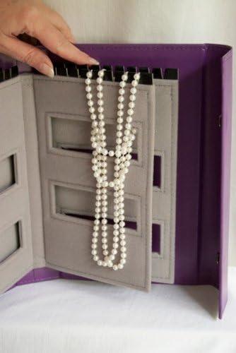Carnet pour ranger les colliers Little Book of Necklaces violet