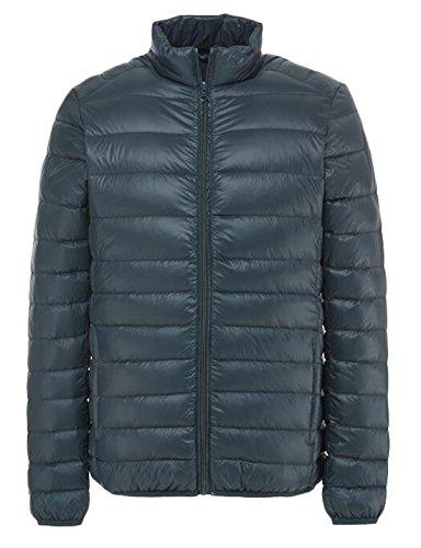 EKU Men's Outdoor Light Packable Down Puffer Jacket Coat US L Green