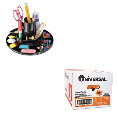 KITOIC26250UNV21200 - Value Kit - Officemate Recycled Rotary Organizer (OIC26250) and Universal Copy Paper (UNV21200)