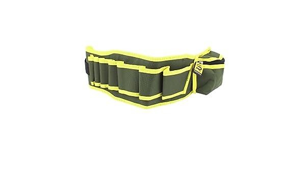 Correa de nylon Alicates Tijeras herramienta del cortador de cinturón de cintura Bolsa Verde Amarillo - - Amazon.com
