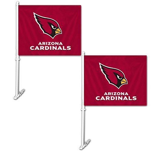 - Official National Football League Fan Shop Authentic NFL 2-pack Car Window Flags. Show Team Pride with these 11.5