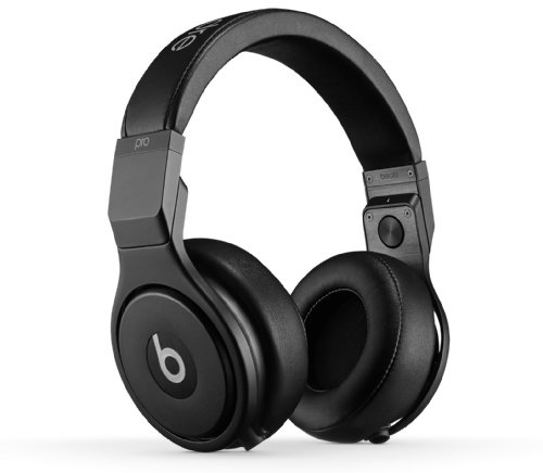 Beats by Dre Beats Pro High Performance Professional Headphones from Monster Blackout, One Size