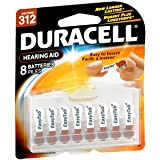 PACK OF 3 EACH DURACELL HEAR AID DA312B8W EZ 8EA PT#4133374387