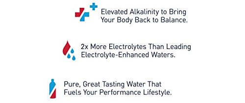 AQUAhydrate Electrolyte Enhanced Water Ph9+, 33.8  Fl. Oz (Pack of 12) by AQUAhydrate (Image #3)