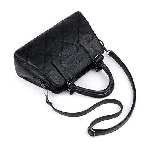 KYOKIM Fashion Sac E Femmes Bandoulière à Vintage Main Des New En Capacité Sac Bag Grande à Casual Messenger Cuir rRCqYrHwdW