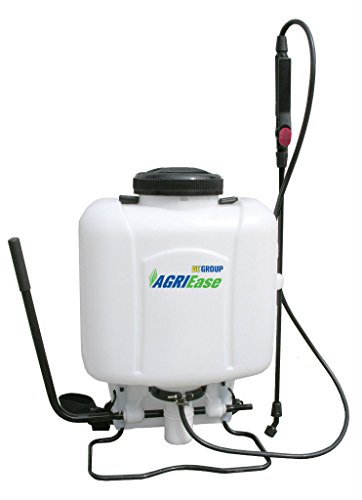 New BE AGRIEase 90.704.016 4-Gallon Backpack Garden Sprayer | Hand Piston Pump (Three Point Ag Sprayer)