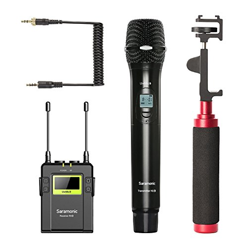 Movo Smartphone Video Kit with Wireless Microphone System ,