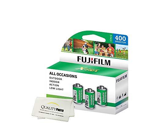 Fuji Superia X-TRA 3 Pack ISO 400 36 Exp. 35mm