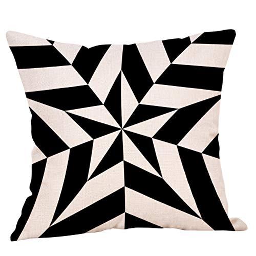 Xmansky Funda de almohada de algodón Funda de almohada de lino Funda de almohada de sauce llorón Funda de almohada cómoda: Amazon.es: Ropa y accesorios