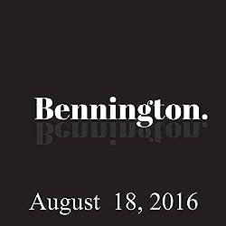 Bennington, August 18, 2016