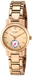 "kate spade new york Women's 1YRU0544 ""Gramercy Mini"" Rose Gold-Tone Watch"