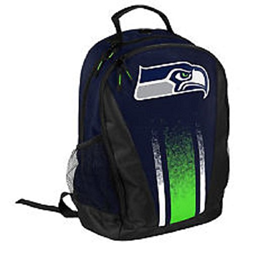 FOCO Seattle Seahawks 2016 Stripe Primetime Backpack