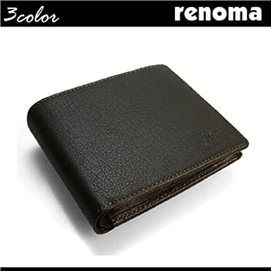a7f0c7155695 Amazon   U.P renoma (レノマ) 牛革 二つ折り財布[61r012]【財布】【財布 ...