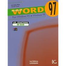 Word 97 pour wind 95 et 98 de base