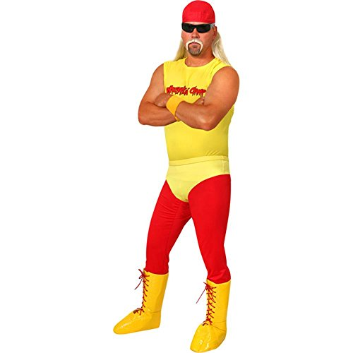 Adult Hulking Wrestler Costume, Size Adult Standard