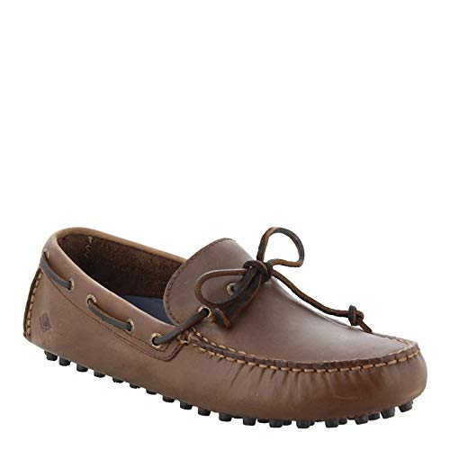 Sperry Top-Sider Men's Hamilton Driver 1-Eye,Brown/Brown Leather,US