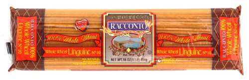 Racconto Whole Wheat Linguine, 16-Ounce Packages (Pack of 20)