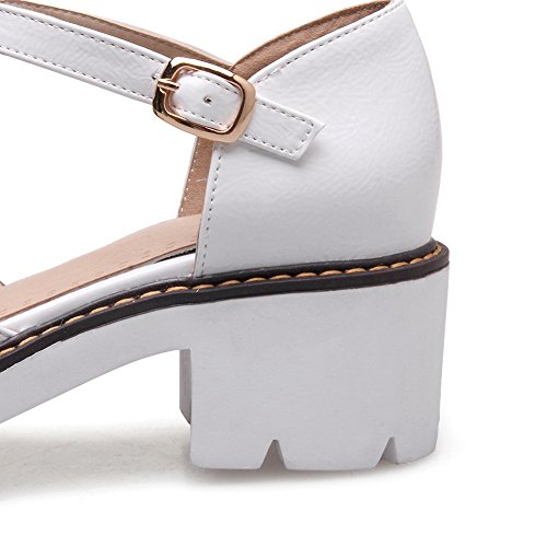 Sandales Femme BalaMasa Blanc ASL05069 Compensées 6OOAv