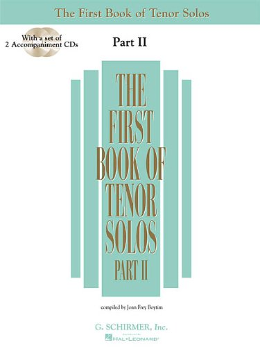 The First Book of Tenor Solos - Part II: Book/CD package (2 CDs) (First Book of Solos Part II) pdf epub