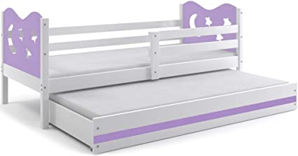 interbeds Función cama Miko 190 x 90 cm color: weiβ + 2 ...