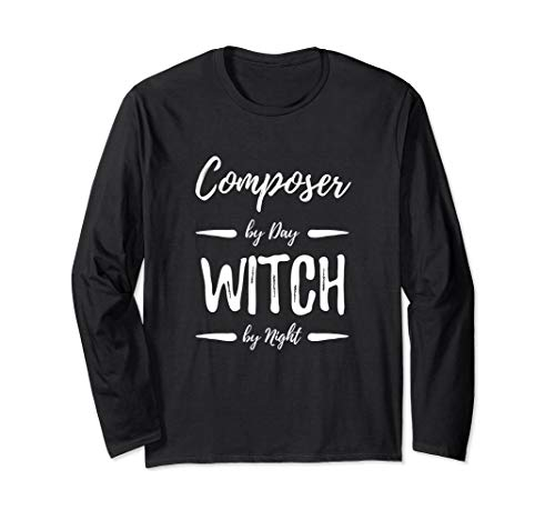 Composer Witch Long Sleeve Shirt Musician Halloween Costume for $<!--$26.99-->