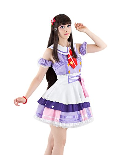 ROLECOS Dia Kurosawa Japanese School Uniform Sailor Suit Cosplay Costume XL (Sailor Outfits For Men)