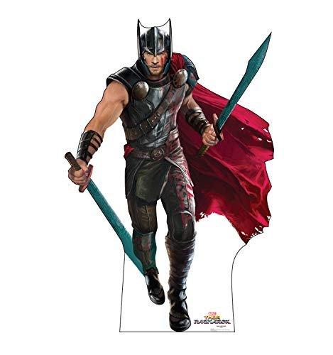 Advanced Graphics Thor Life Size Cardboard Cutout Standup - Thor: Ragnarok (2017 Film)