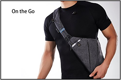 Amazon.com : NIID-FIIT Sling Shoulder Crossbody Chest Bag Pack ...