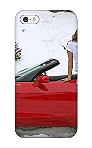 Hot Girls And Cars First Grade Tpu Phone Case For Iphone 5/5s Case Cover