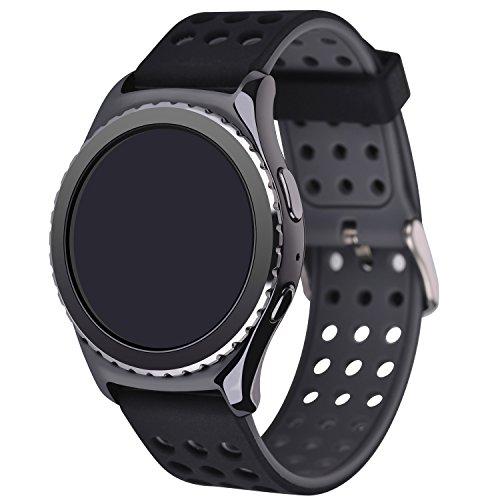 Moretek Replacement Wristband Silicone BlackGrey