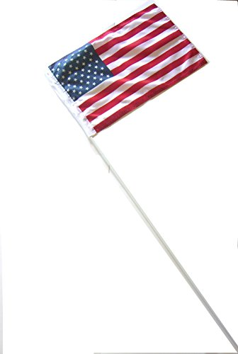 SUZUKI HONDA KAWASAKI YAMAHA POLARIS 6'' ATV WHIP FLAG GLAMIS USA AMERICAN FLAG