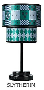 Harry Potter Quidditch Collector's Table Lamp (SLYTHERIN) by Robe Factory