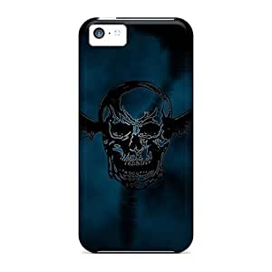 Shock-Absorbing Cell-phone Hard Cover For Iphone 5c With Provide Private Custom Trendy Guns N Roses Pictures RudyPugh