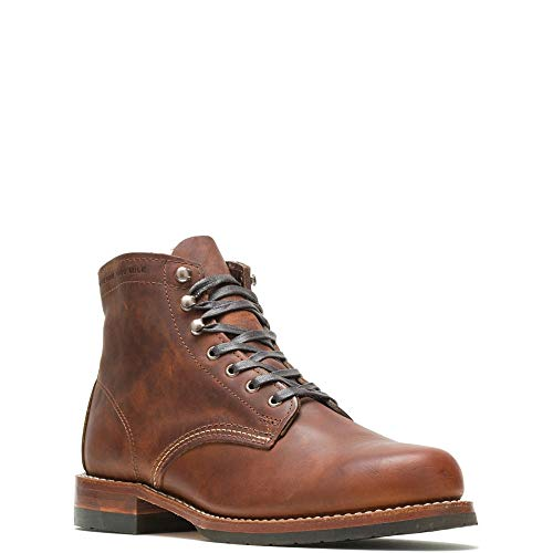 Wolverine Evans 1000 Mile Boot Men 10 Brown Leather